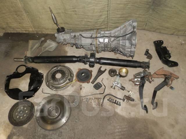 Механическая коробка переключения передач. Nissan Skyline, ER34 Nissan Laurel Двигатель RB25DE