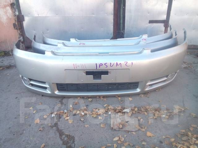Бампер. Toyota Ipsum, ACM21, ACM26 Двигатель 2AZFE
