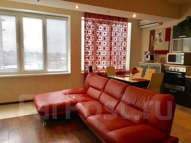 2-комнатная, улица Полетаева 6. Седанка, агентство, 72 кв.м. Вторая фотография комнаты