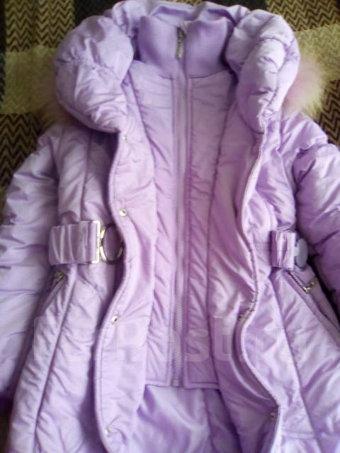 Пальто-пуховики. Рост: 128-134 см