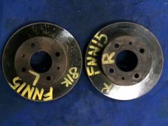 Диск тормозной. Nissan: Sunny California, Presea, Pulsar, Sunny, Almera, Rasheen, Lucino, Wingroad Двигатели: CD20, GA15DE, SR18DE, GA16DE, GA13DE, GA...