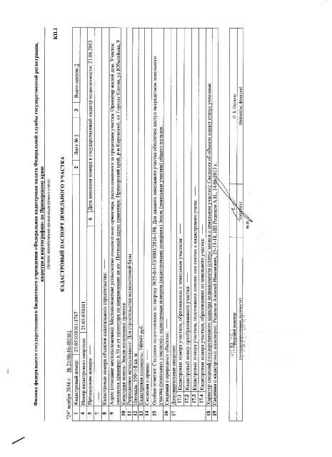 Продажа земельного участка. 550 кв.м., собственность, электричество, вода, от частного лица (собственник). Документ на объект для покупателей