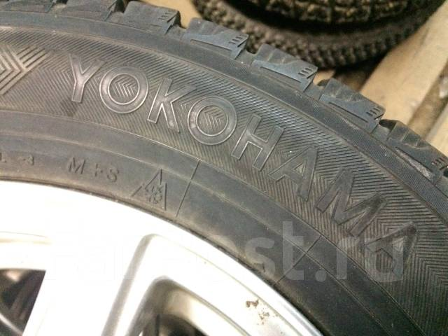 Yokohama Ice Guard IG20. Зимние, без шипов, 2010 год, износ: 20%, 4 шт