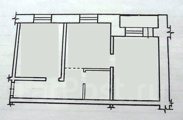 2-комнатная, квартал Солнечный город 27. Железнодорожный, агентство, 45 кв.м.