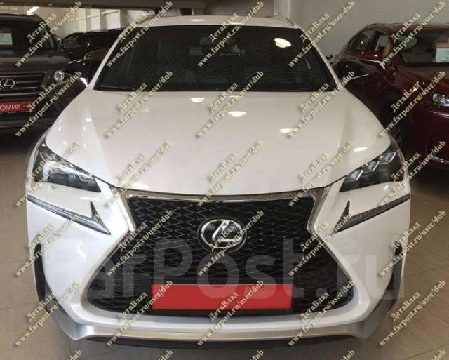 Губа и решетка F-Sport на Lexus NX200, NX200t, NX300h (Лексус). Lexus NX300h Lexus NX200 Lexus NX200t