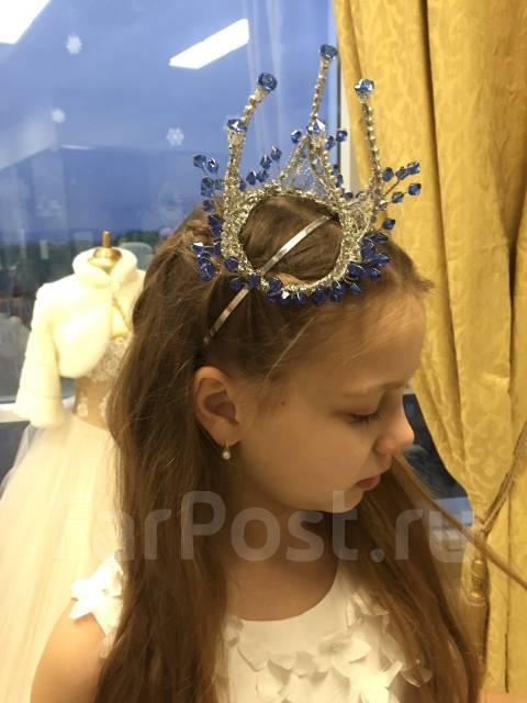 Продам корону на ободке, ручная работа). Рост: 122-128 см