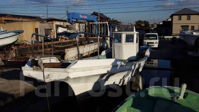 Лодка рыбацкая с постом 10 м (корпус). Год: 1995 год, двигатель подвесной, бензин. Под заказ
