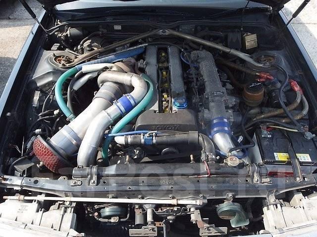 Генератор. Toyota Supra Toyota Aristo Двигатель 2JZGTE