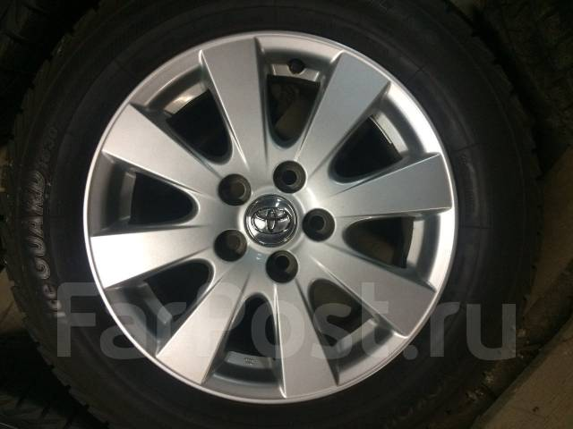 Toyota. 6.5x16, 5x114.30, ET45, ЦО 67,0мм.