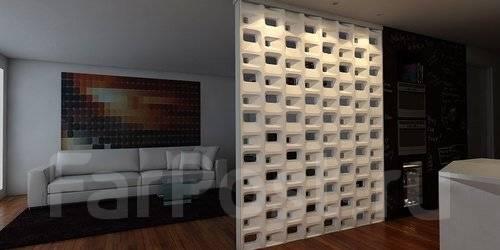 Монтаж 3D блоков и 3D стеновых панелей под ключ! Все в наличии! Скиди!