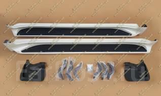 Подножка. Toyota Land Cruiser, VDJ200, URJ202W, URJ202 Двигатели: 1URFE, 1VDFTV