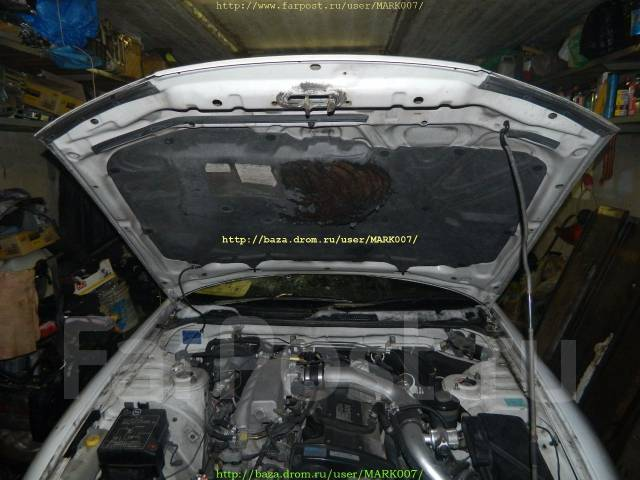 Капот. Nissan Skyline, ECR33
