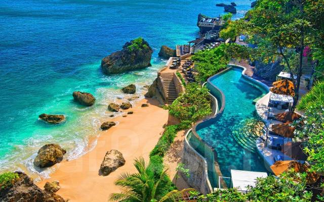 Индонезия. Бали. Пляжный отдых. О. Бали + Бангкок