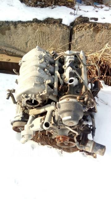 Двигатель. Toyota Land Cruiser Двигатель 2UZFE