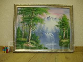 Картина Холст Масло В раме 60см*49см