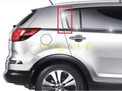 Хром накладки на стойки дверей ( задние ) Kia Sportage 2010-