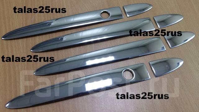 Накладка на ручки дверей. Honda Fit, GK3, GK5, GK4, GK6
