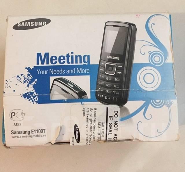 Samsung GT-E1100. Б/у