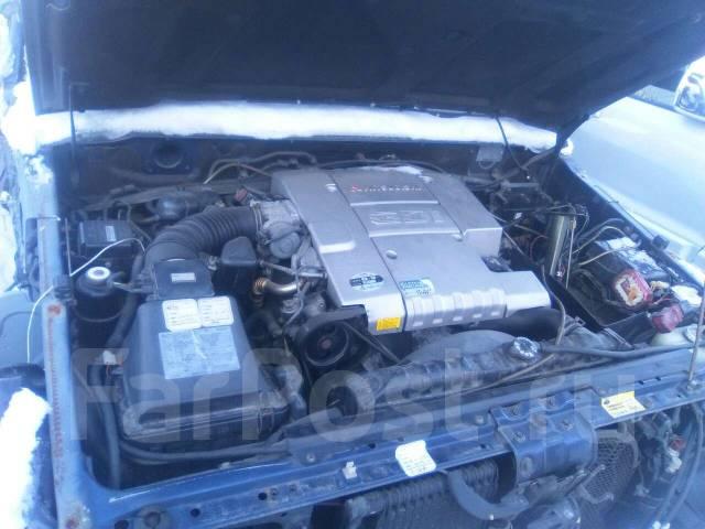 Двигатель в сборе. Mitsubishi Pajero, V45W Двигатели: 6G74, GDI