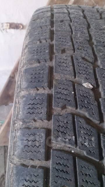 Dunlop. Зимние, без шипов, 2007 год, износ: 30%, 2 шт