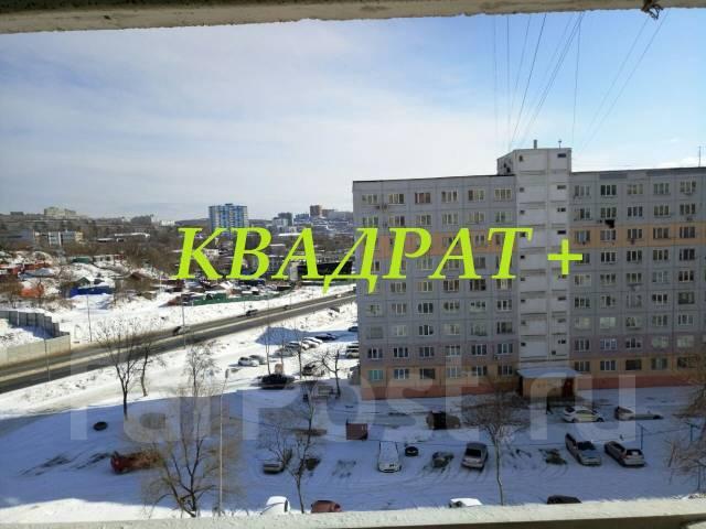 Гостинка, улица Надибаидзе 26. Чуркин, агентство, 26 кв.м. Вид из окна днем
