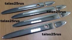Накладка на ручки дверей. Honda Fit, GK4, GK5, GK3, GK6