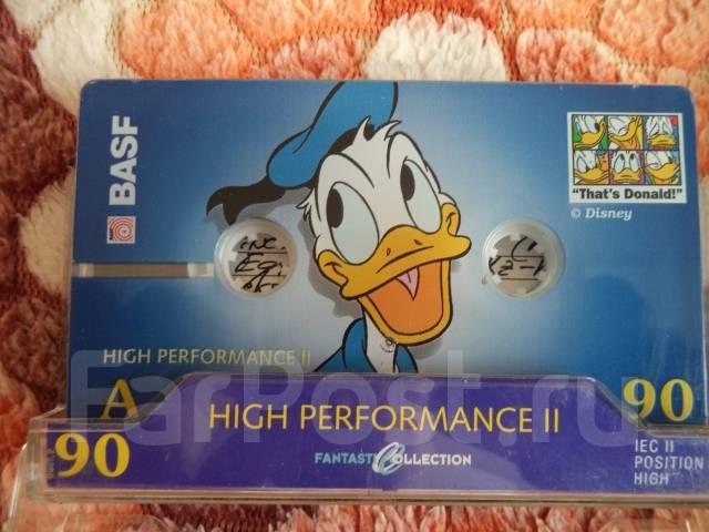 Audio-Cassettes BASF- Position High (Хромовые)-90 min.