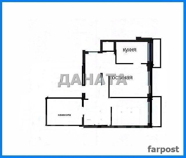 3-комнатная, улица Монтажная 11б. Борисенко, агентство, 85 кв.м. План квартиры