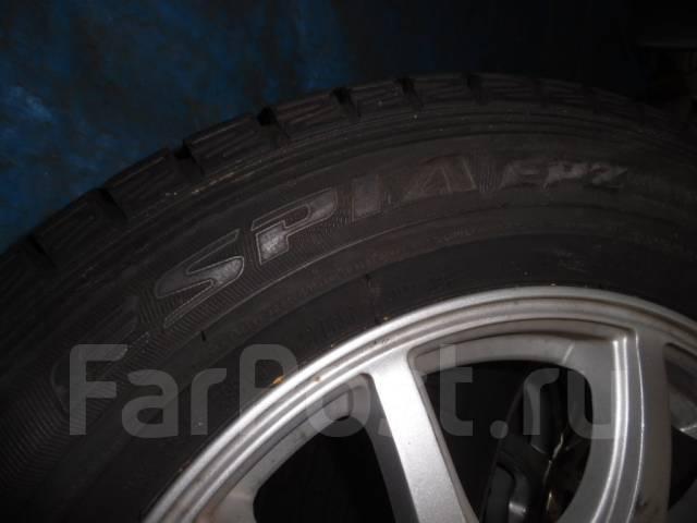 Шины зимние Falken 215/60 R16 с дисками 5*114,3. 6.5x16 ET40
