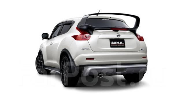 Обвес кузова аэродинамический. Nissan Juke Двигатель MR16DDT. Под заказ