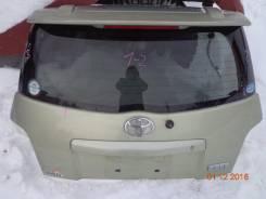 Дверь багажника. Toyota ist, ZSP110, NCP115, NCP110