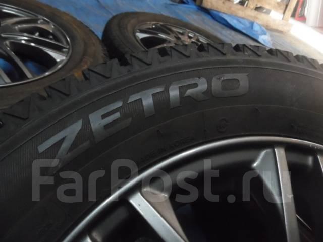 Шины зимние Zetro 165/70 R14 с дисками 4*100. 4.5x14 ET45