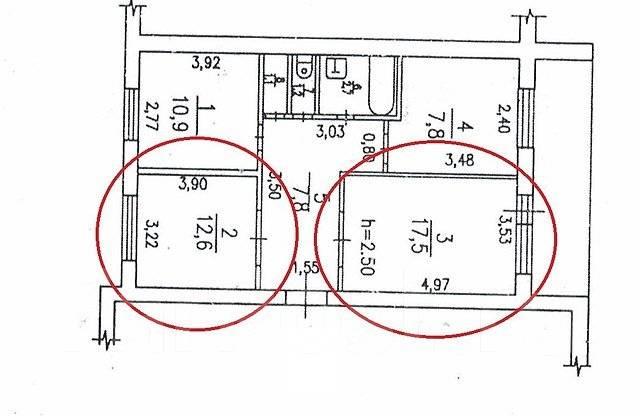Комната, улица Покуса 28. Железнодорожный, агентство, 66 кв.м.