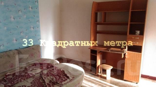1-комнатная, улица Адмирала Юмашева 16. Баляева, агентство, 32 кв.м. Комната