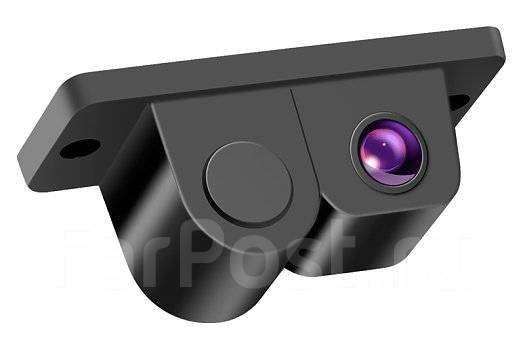 Парктроник - камера заднего вида Rolsen RRV-320 черная