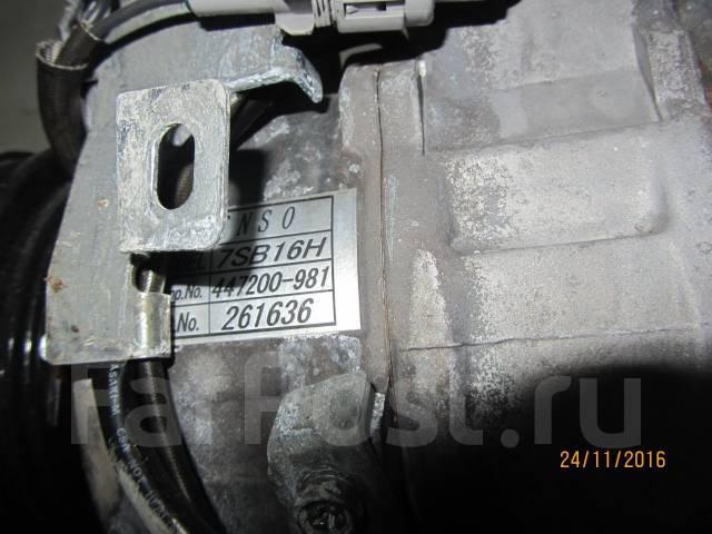 Компрессор кондиционера. Toyota Crown Двигатель 2JZGE