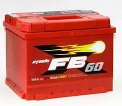 Аккумулятор автомобильный FB (Westa) 60 Ач. 60 А.ч., производство Россия