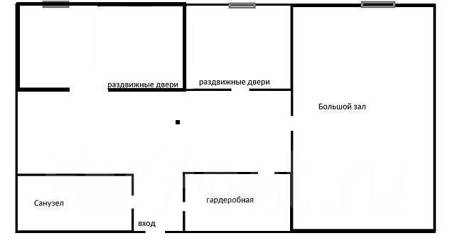 Бизнес под ключ. В Центре города. Улица Карла Либкнехта 10а, р-н Гайдамак, 74 кв.м. План помещения