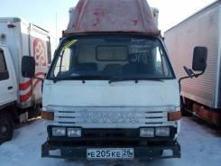Toyota Dyna. Хороший - добротный грузовик по доступной цене., 2 800 куб. см., 1 750 кг.