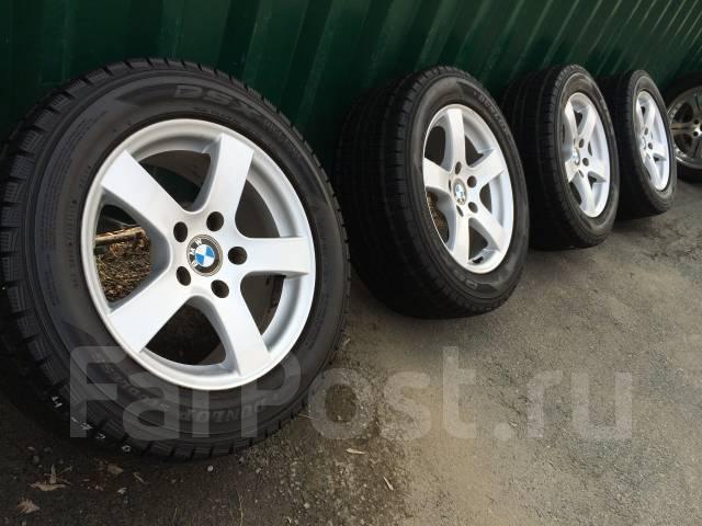 Оригинал Bmw R16+жирная японская зима Dunlop 225/55/16. 7.0x16 5x120.00 ET20 ЦО 73,0мм.