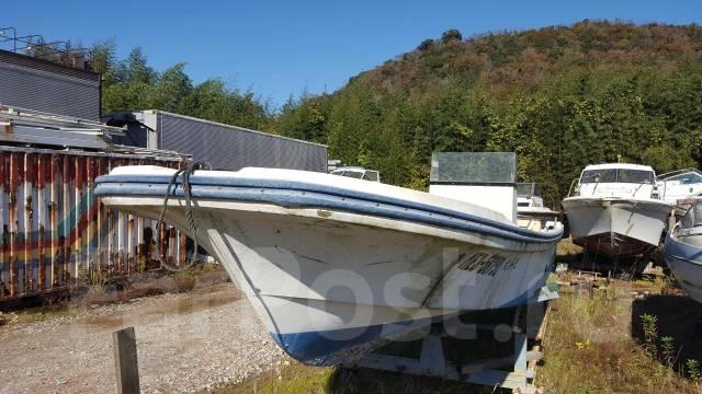 Лодка рыбацкая, корпус 10 м под повесной лодочный мотор, с постом. Год: 1995 год, двигатель подвесной, бензин. Под заказ