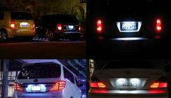 Подсветка. Toyota: Corolla, Corolla Rumion, Mark X, Mark X Zio, Sienna, Wish, Alphard, Urban Cruiser, Auris, Vellfire, Corolla Fielder, Corolla Axio...