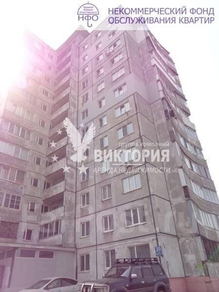2-комнатная, улица Чкалова 20. Вторая речка, агентство, 54 кв.м. Дом снаружи