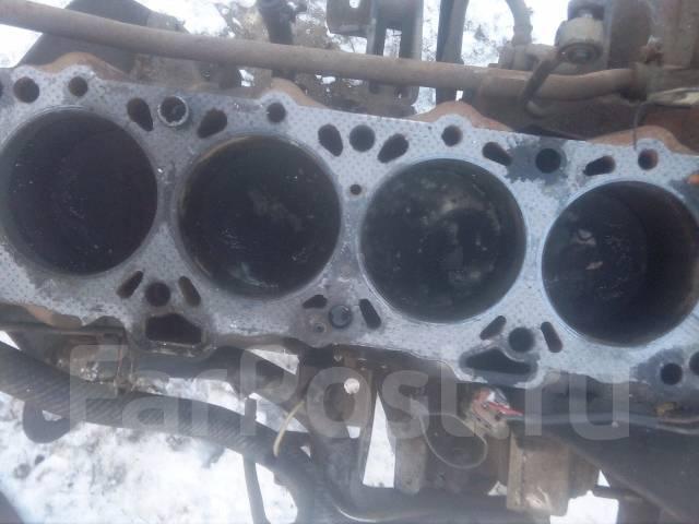 Блок цилиндров. Nissan Vanette Двигатель LD20T