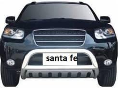 Защита бампера(зад), кенгурятник, пороги Hyundai Santa FE с 2006 по 2012
