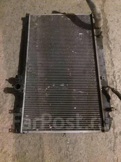 Радиатор охлаждения двигателя. Toyota Mark II, JZX100 Двигатель 1JZGTE