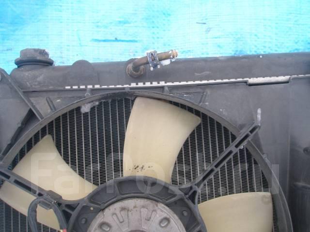 Радиатор охлаждения двигателя. Toyota Harrier, MCU10, MCU15W, MCU15, MCU10W Двигатель 1MZFE