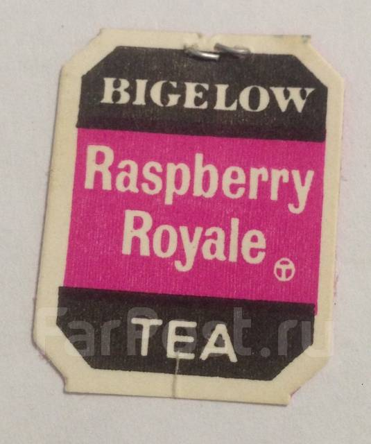 Ярлычок чайный, пакетик, чай. Bigelow Tea. Винтаж.