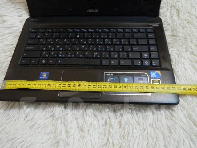 "Asus X42J. 14.1"", 2,7ГГц, ОЗУ 3072 Мб, диск 300 Гб, WiFi, Bluetooth, аккумулятор на 2 ч."