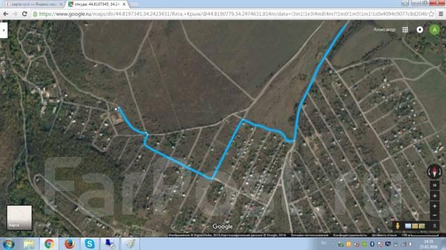 Продам участок Симферопольский р-н п. Мраморное. 1 200 кв.м., собственность, электричество, вода, от частного лица (собственник)